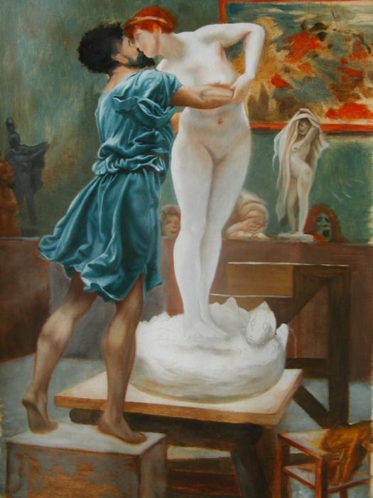 pygmalion and galatea by ovid According to ovid's mythic story, pygmalion once loathed all women until he created an ivory statue using the likeness of a woman, a perfect female, and ironically fell in love with her.